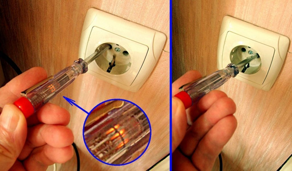 How to use a screwdriver indicator.