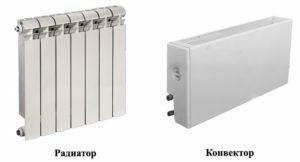 What is better convectors or radiators: a comparison of the characteristics of devices