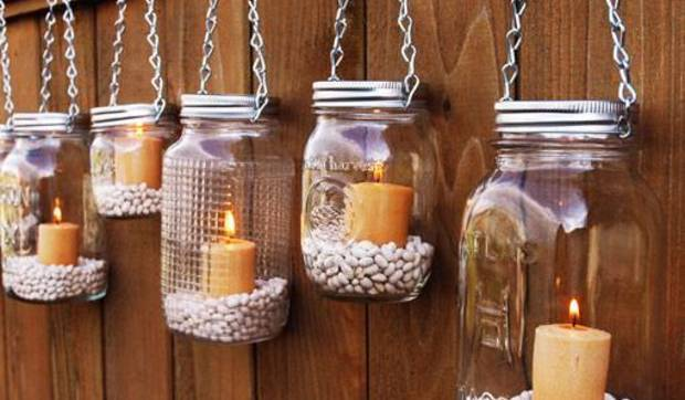 How can jars of baby food come in handy, creative design ideas