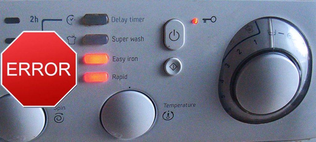 Fagor Washing Machine Error Codes - Hundred worries